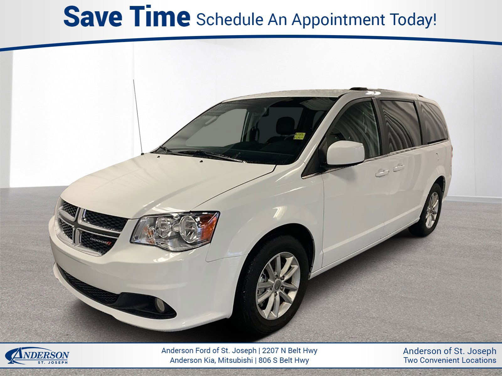 Used 2019 Dodge Grand Caravan SXT Mini-van for sale in St Joseph MO