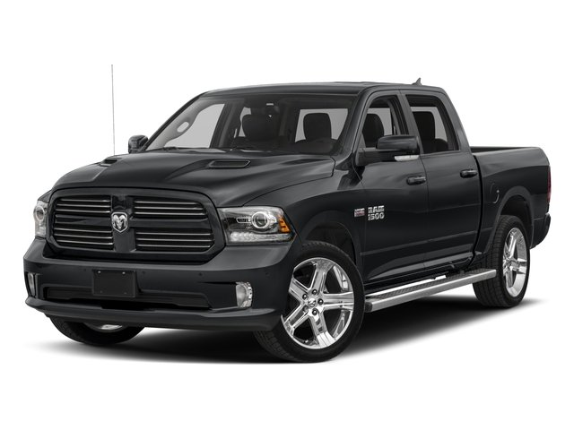 Used 2017 Ram 1500 Sport 4×4 Crew Cab 6'4 Box Stock: J2405P