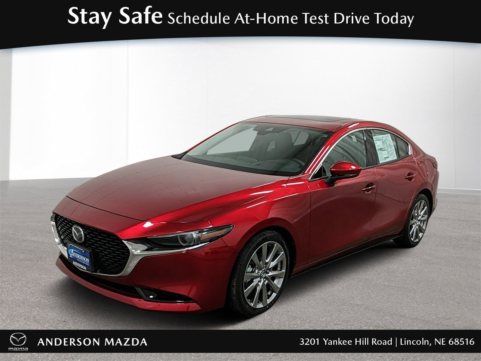 New 2020 Mazda Mazda3 Sedan w/Premium Pkg 4dr Car for sale in Lincoln NE