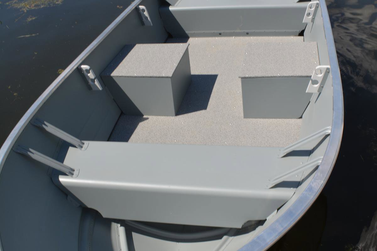 2020 Smoker Craft boat for sale, model of the boat is 13 ALASKAN TS DLX SS & Image # 4 of 4