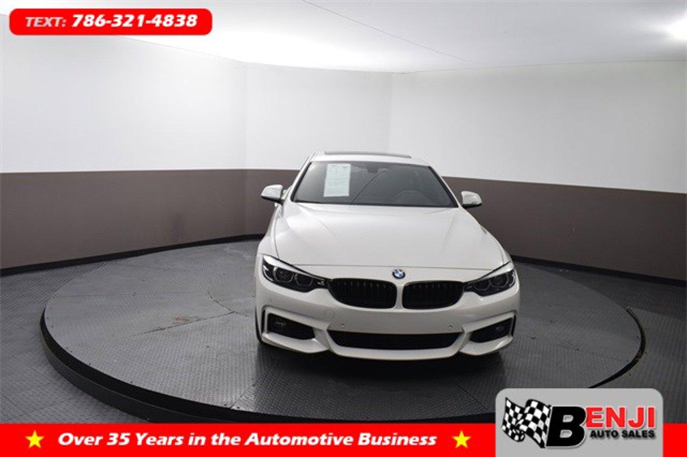 Used BMW 4-SERIES 2019 BROWARD 430I