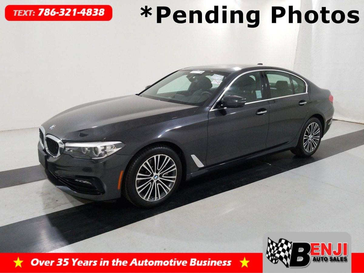 Used BMW 5-SERIES 2018 BROWARD 530I