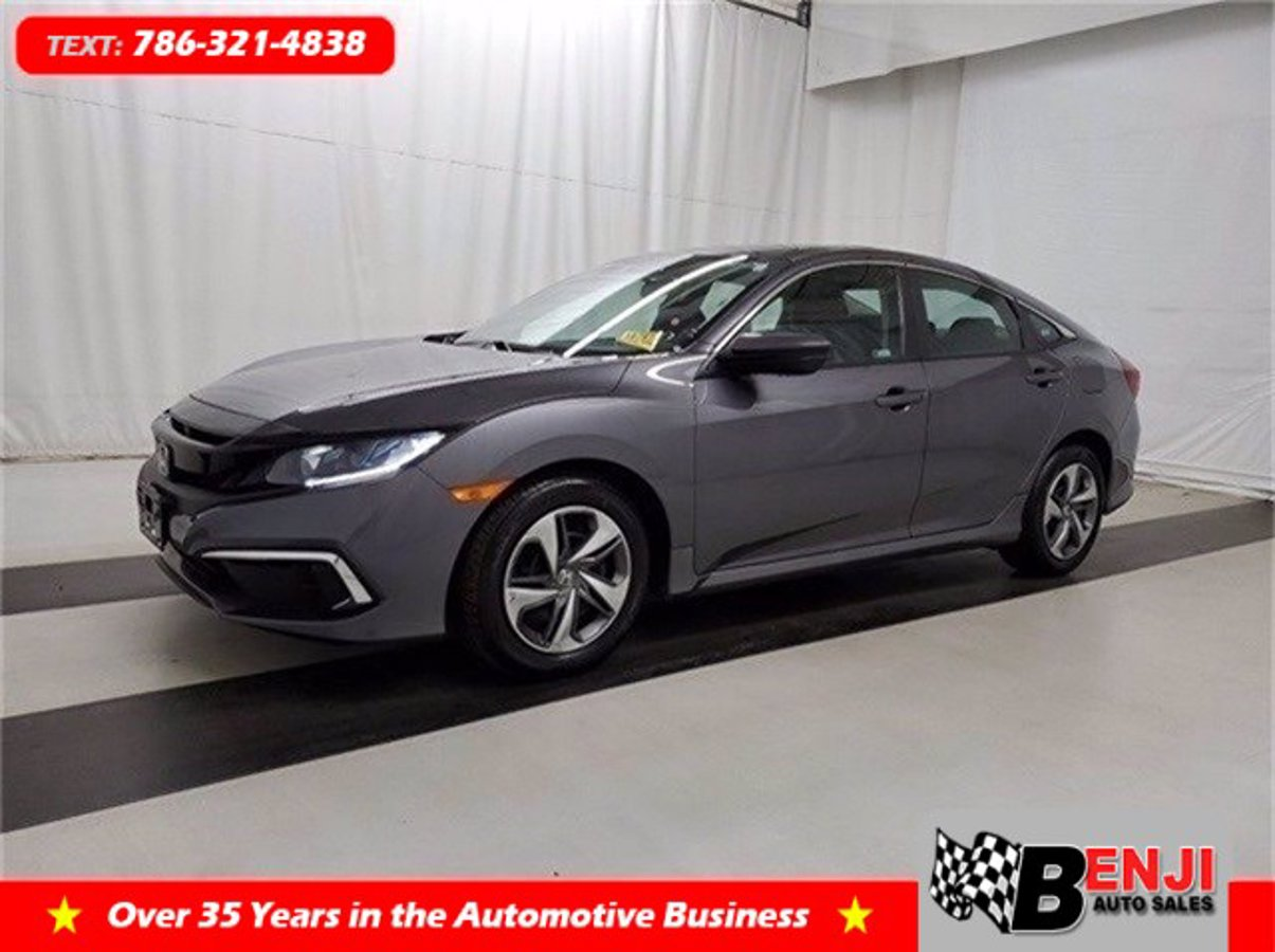 Used HONDA CIVIC 2019 BROWARD LX