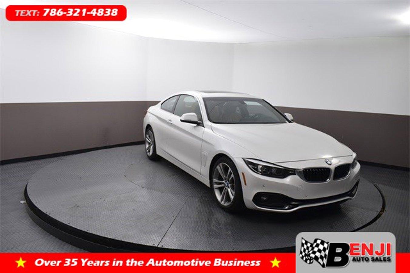 Used BMW 4-SERIES 2018 BROWARD 430I