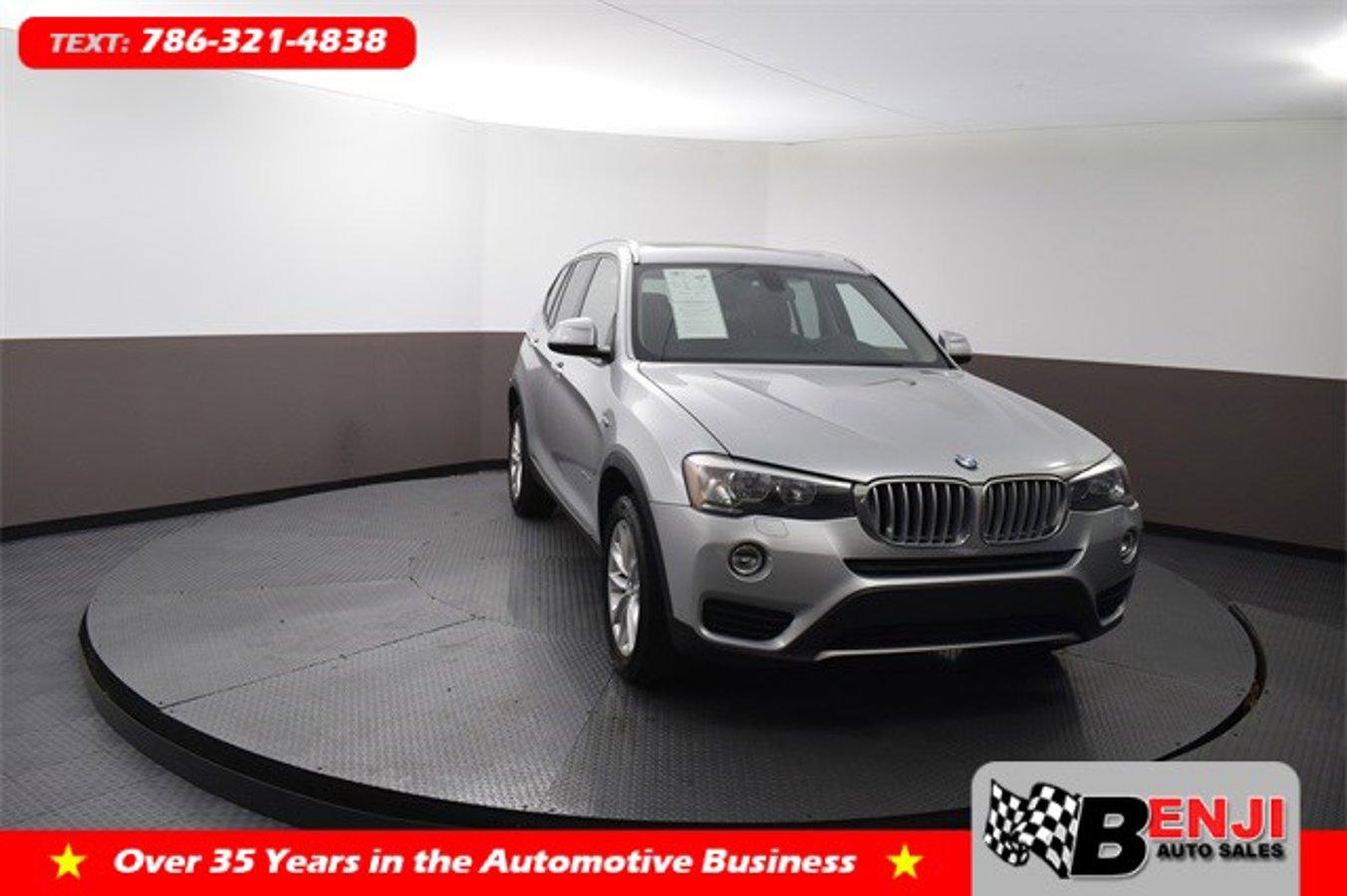 Used BMW X3 2017 BROWARD SDRIVE28I