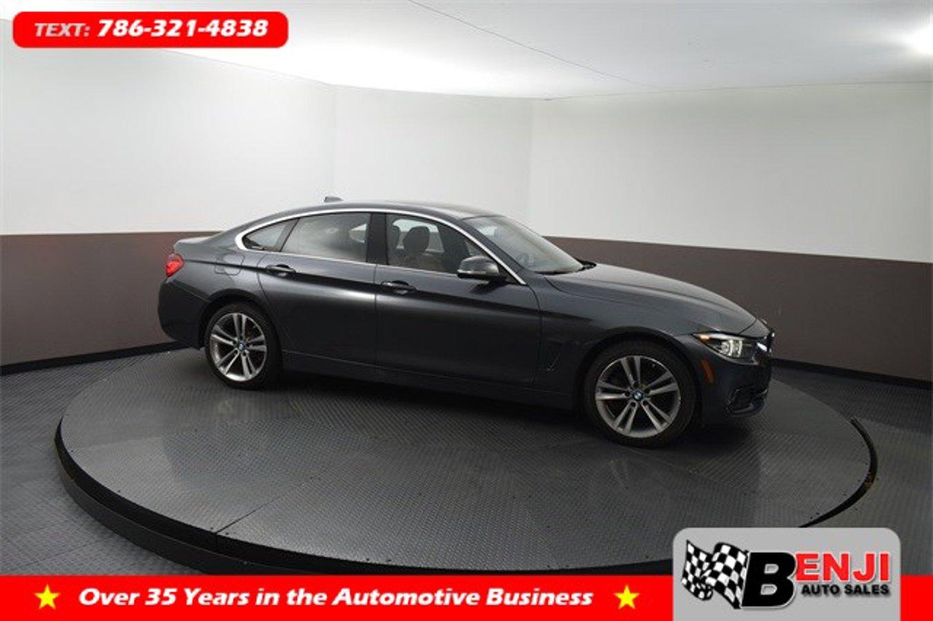 Used BMW 4-SERIES 2018 BROWARD 430I XDRIVE