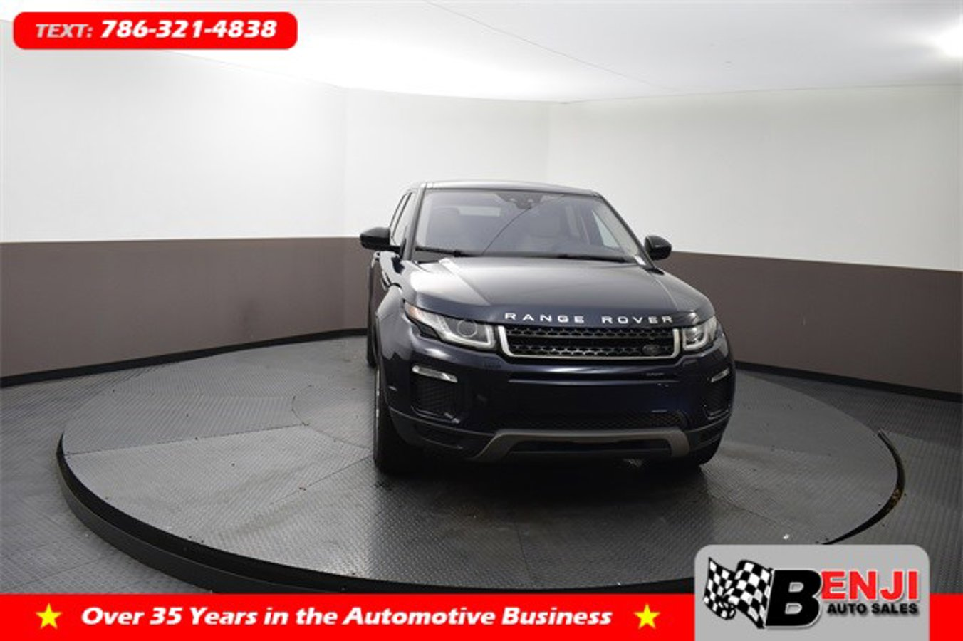 Used LAND-ROVER RANGE-ROVER-EVOQUE 2017 BROWARD