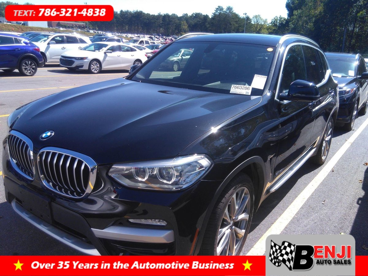Used BMW X3 2018 BROWARD XDRIVE30I