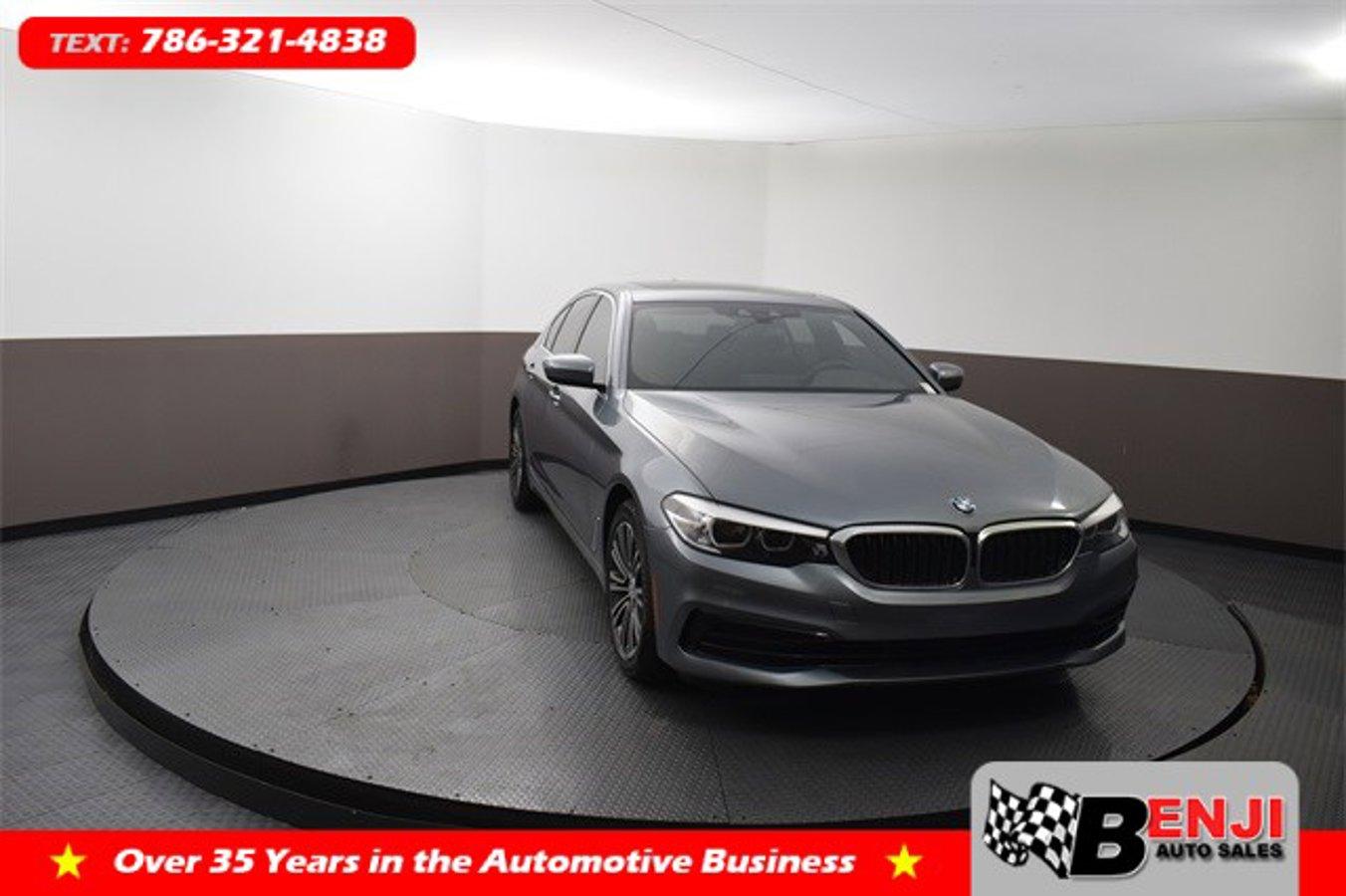 Used BMW 5-SERIES 2019 BROWARD 530I