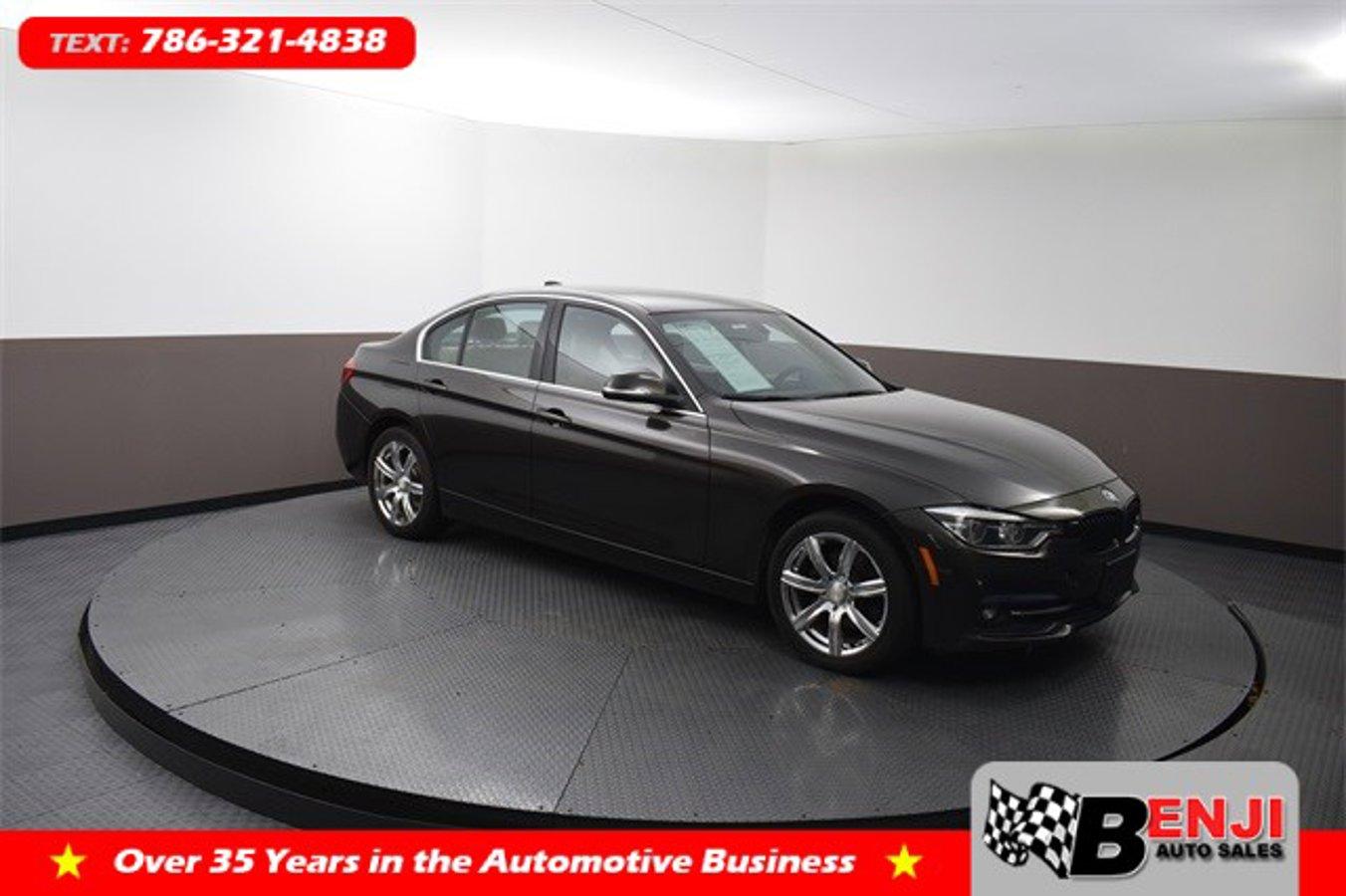 Used BMW 3-SERIES 2018 BROWARD 330I