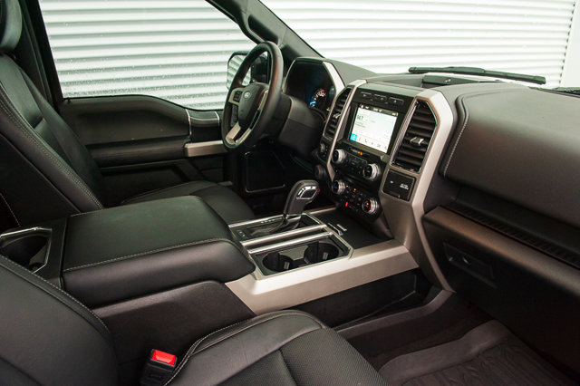 2018 Ford F-150 LARIAT / MOON ROOF / BLIS / HEATED LEATHER / 360 BACK UP CAM