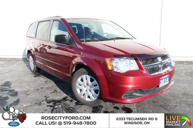 2014 Dodge Grand Caravan SXT / CLOTH / STOW N GO SEATS / ONE OWNER /