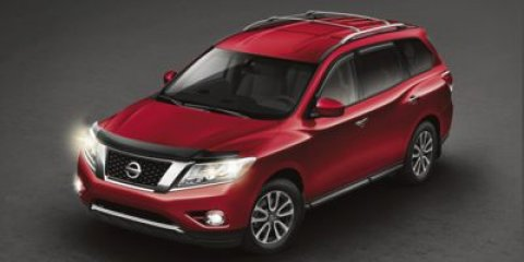 2014 Nissan Pathfinder Platinum with Sunroof and Rear DVD