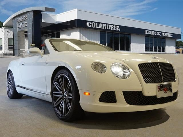 2014 Bentley Continental GT Speed GTC Speed Miles 1300Color Glacier White Stock 040068 VIN S