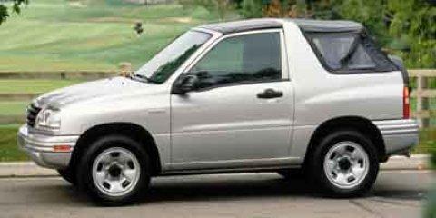 2003 Suzuki Vitara 2DR 4WD AT SOFT T Miles 130156Color Gray Stock 0301636 VIN 2S3TA52C6361016