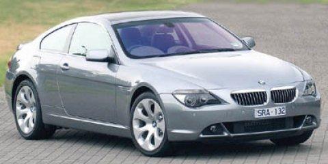 2005 BMW 6 Series 645Ci Miles 118698Color White Stock P2446WR VIN WBAEH73455B193471