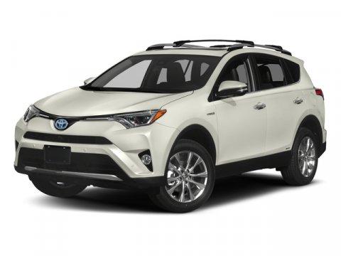 2017 Toyota RAV4 Hybrid Limited Miles 33182Color Blizzard Pearl Stock B4405 VIN JTMDJREV8HD1