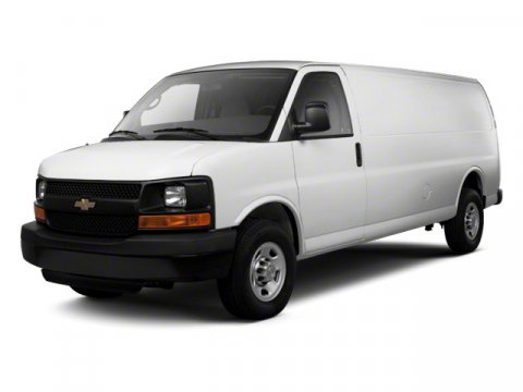 2012 Chevrolet Express Cargo Van 3500 135 WB RWD Miles 99902Color Summit White Stock S3168 VI