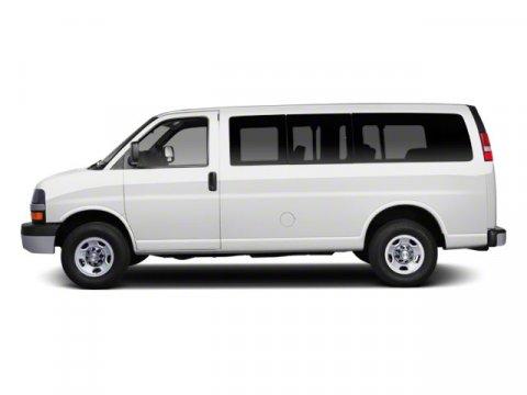 2012 Chevrolet Express Passenger 1LT Miles 51709Color Summit White Stock B4404 VIN 1GAZG1FG9