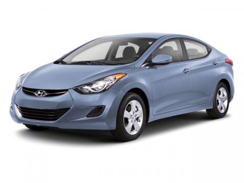 2012 Hyundai Elantra Limited PZEV Miles 53815Color Blue Sky Metallic Stock S2961 VIN KMHDH4A