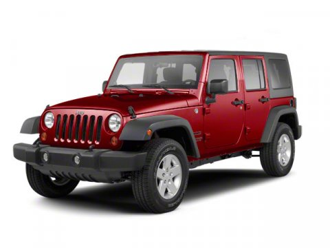 2012 Jeep Wrangler Unlimited Sport Miles 1Color Deep Cherry Red Crystal Pearl Stock U2876 VIN