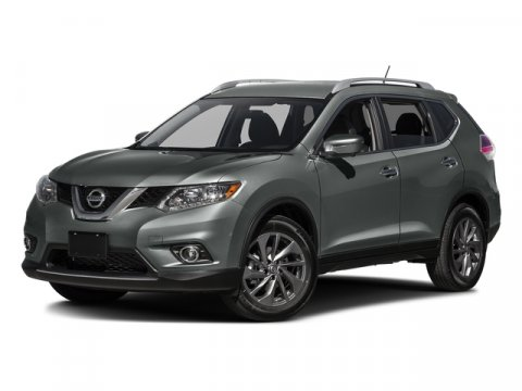2016 Nissan Rogue SL Miles 35265Color Gun Metallic Stock U2967 VIN 5N1AT2MV2GC757449