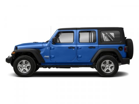 2018 Jeep Wrangler Unlimited Sahara Miles 3Color Ocean Blue Metallic Clearcoat Stock 18-832 V