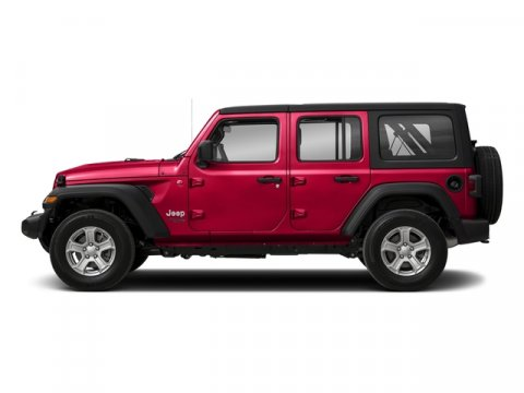 2018 Jeep Wrangler Unlimited Sahara Miles 3Color Firecracker Red Clearcoat Stock 18-716 VIN