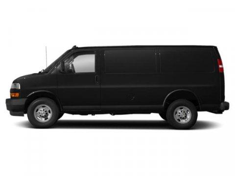 2019 Chevrolet Express Cargo Van Work Van Miles 0Color Black Stock H3481 VIN 1GCWGAFPXK11970