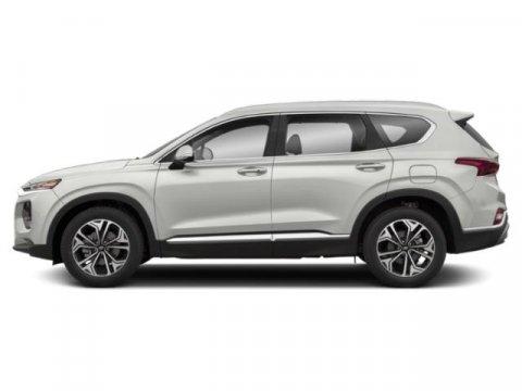 2019 Hyundai Santa Fe SE Miles 3Color Quartz White Stock H9024 VIN 5NMS2CAD7KH030511