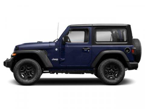 2019 Jeep Wrangler Sport Miles 2Color Ocean Blue Metallic Clearcoat Stock 19W344 VIN 1C4GJXA