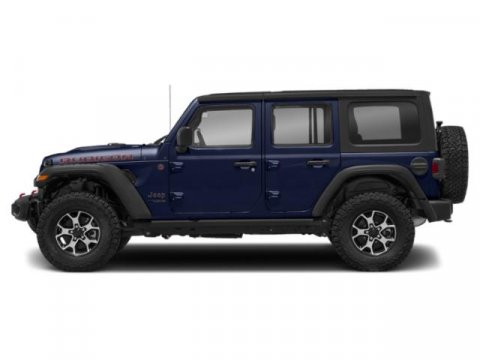 2019 Jeep Wrangler Unlimited Sahara Miles 3Color Ocean Blue Metallic Clearcoat Stock 19-332 V