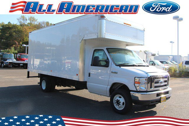 NEW 2019 FORD DRY FREIGHT BOX TRUCK E450 17 FT DURACUBE BODY VAN TRUCK #655037