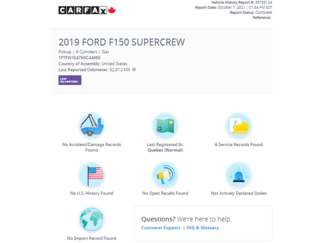 Ford F-150 2019 Sainte-Julienne - photo #7