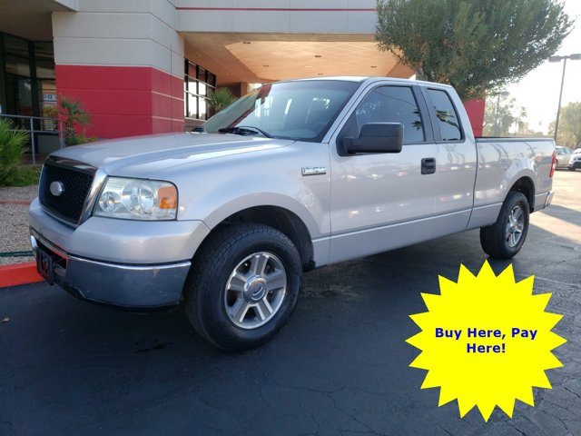 2007 Ford F-150 4 DOOR CAB; SUPER CAB; STYLESIDE