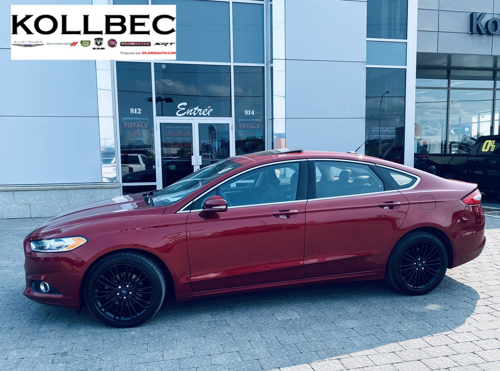 Ford Fusion 4dr Car - 2016