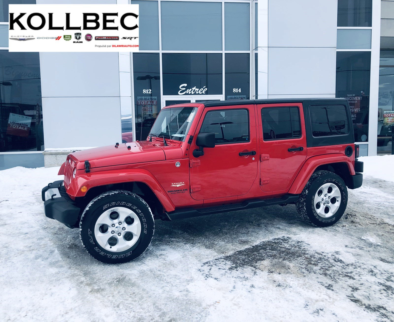 Jeep Wrangler Unlimited Convertible - 2014
