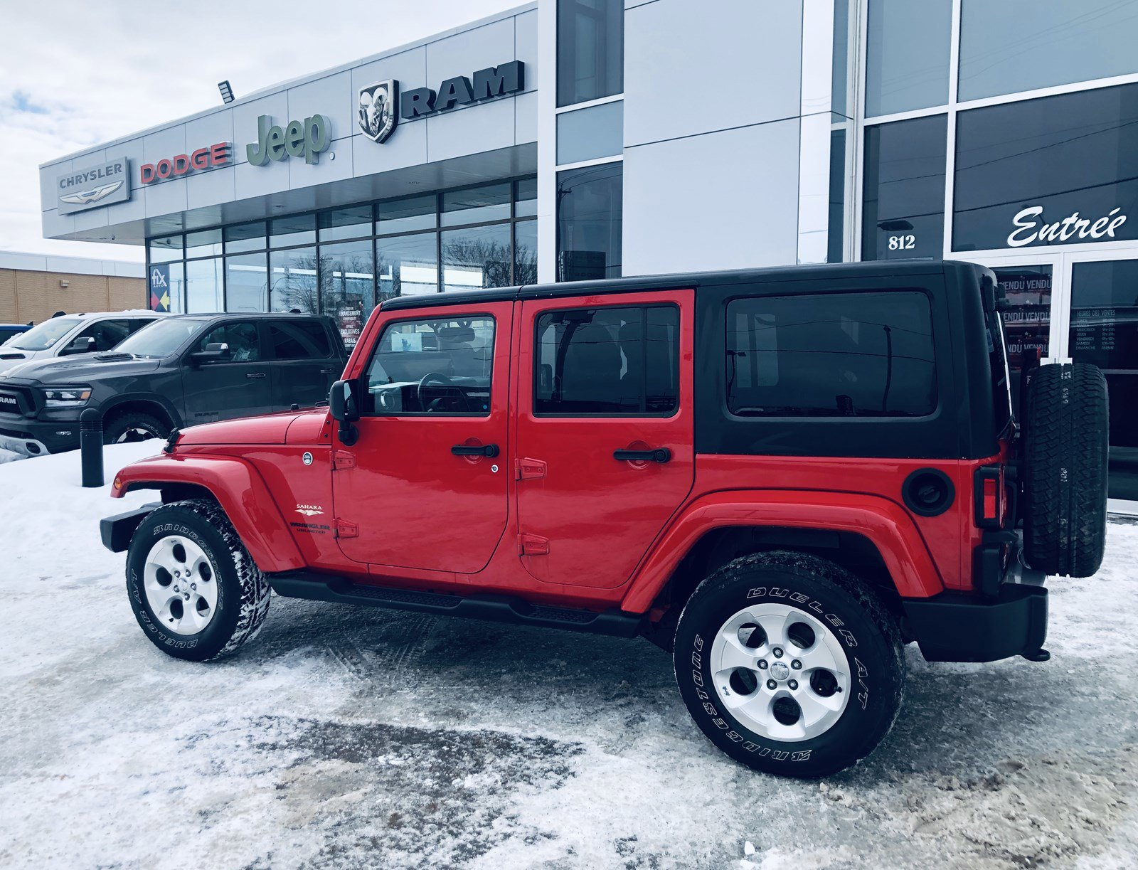 2014 Jeep Wrangler Unlimited Convertible