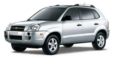 Hyundai Tucson Sport Utility - 2008