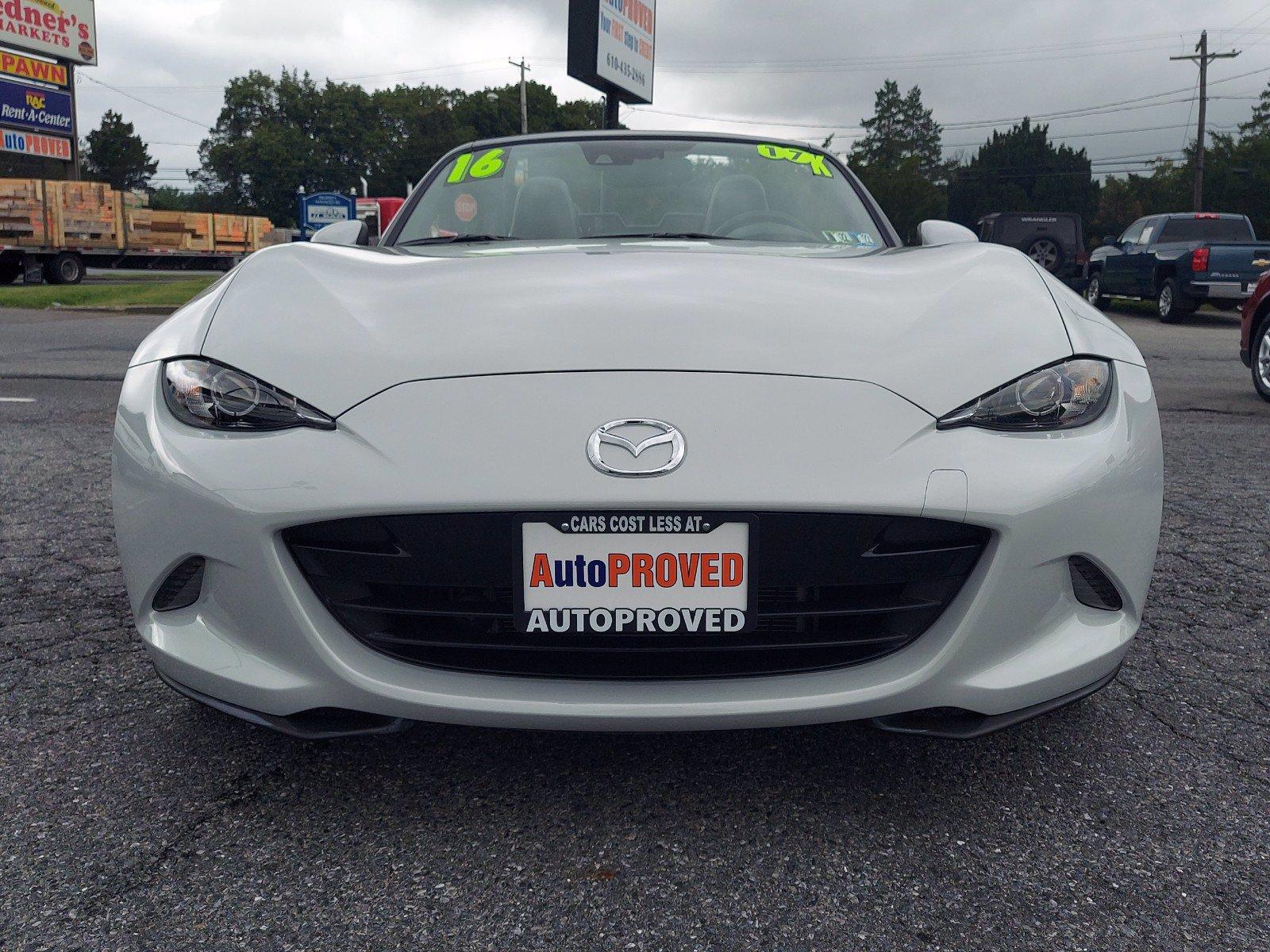 2016 Mazda MX-5 Miata Convertible
