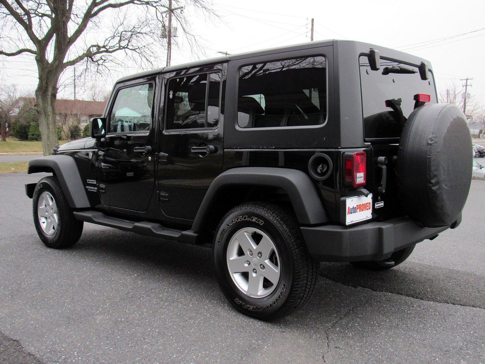 2013 Jeep Wrangler Unlimited Sport Utility