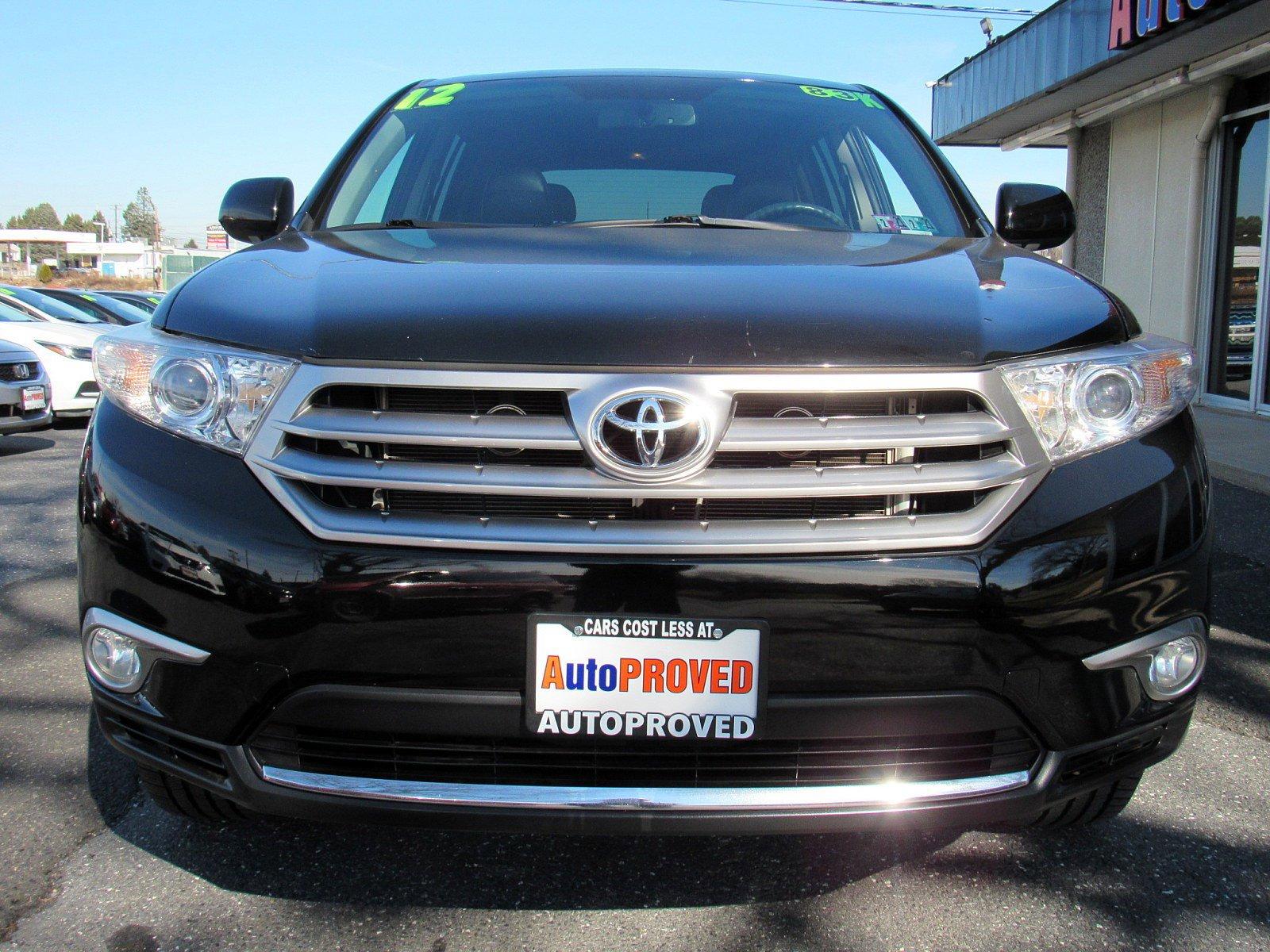 2012 Toyota Highlander Sport Utility