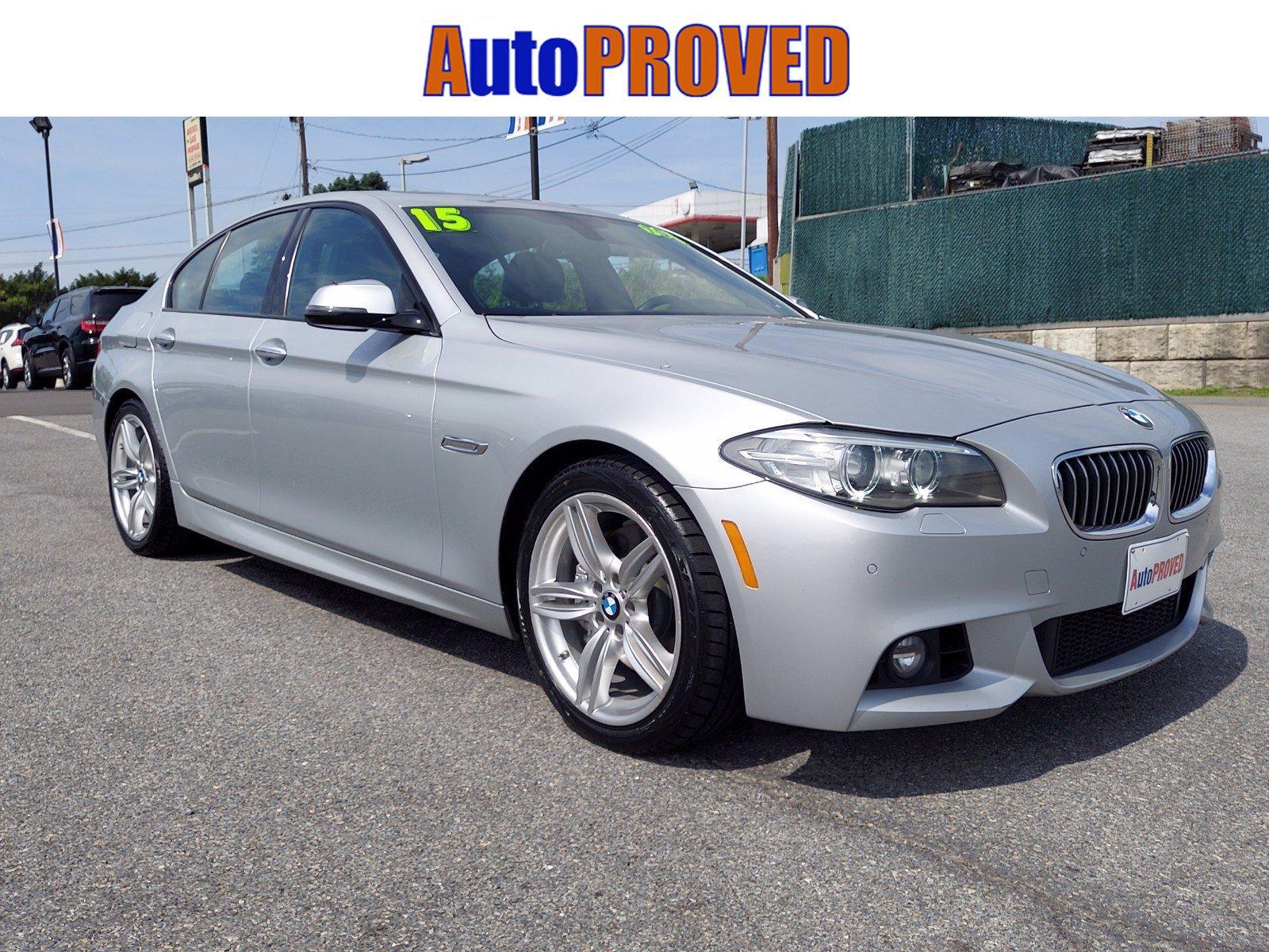 2015 BMW 5 Series 4dr Car