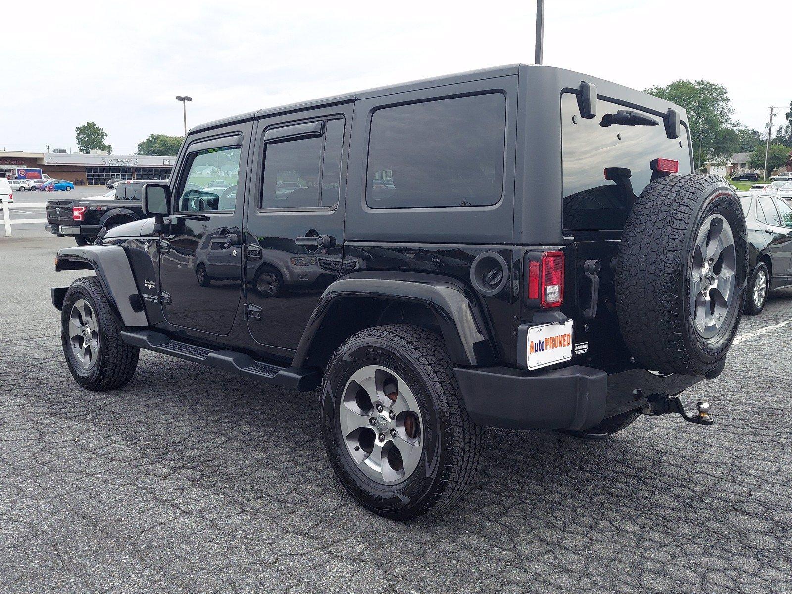 2016 Jeep Wrangler Unlimited Sport Utility