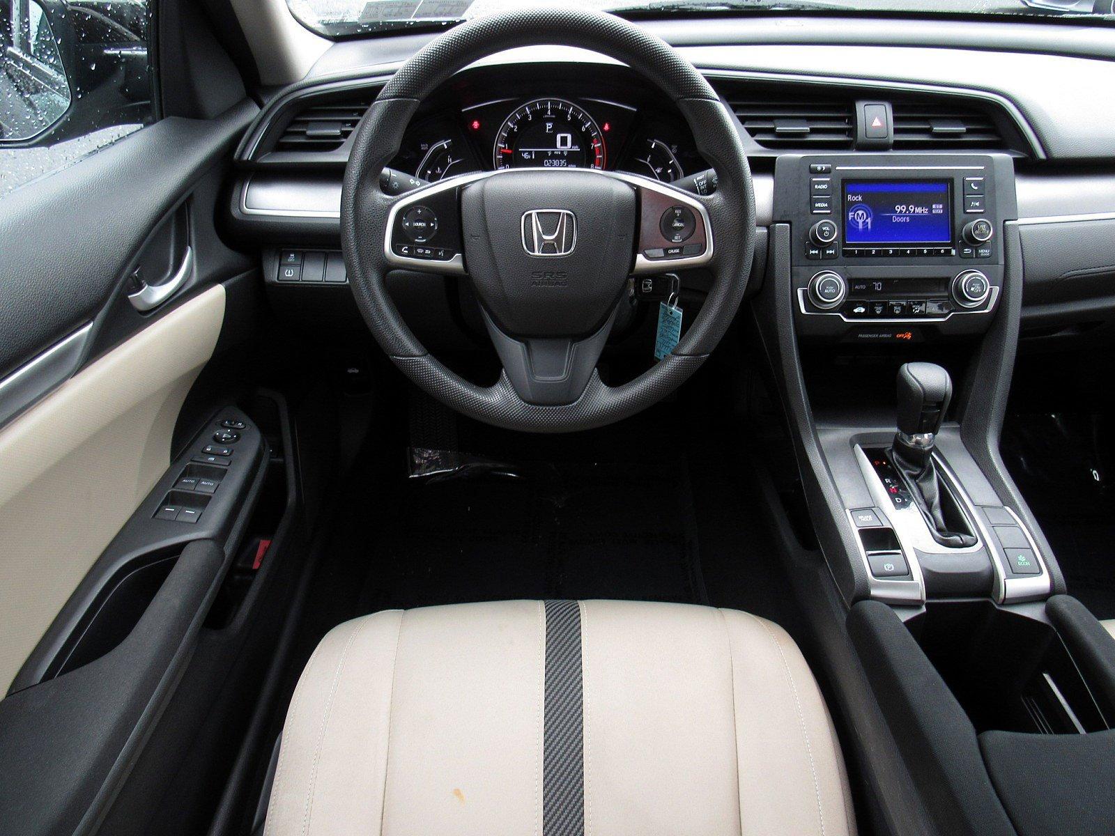 2016 Honda Civic Sedan 4dr Car