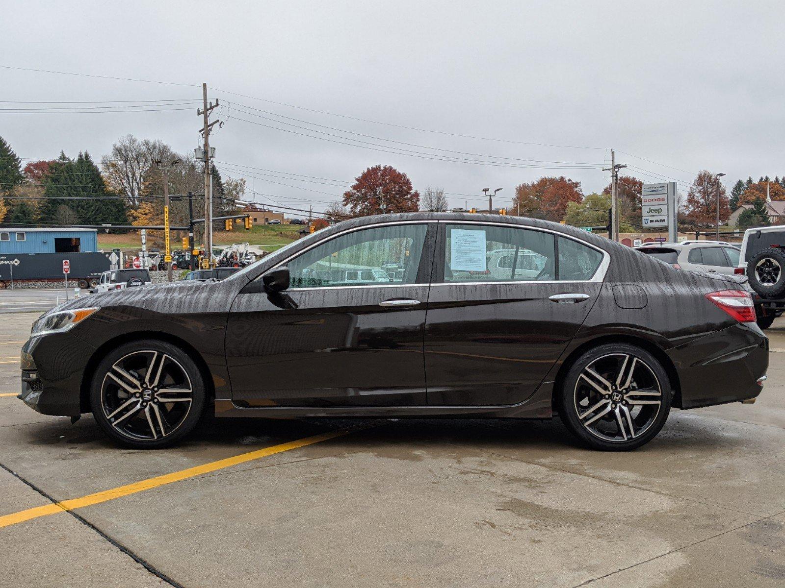 2017 Honda ACCORD SEDAN 4dr Car