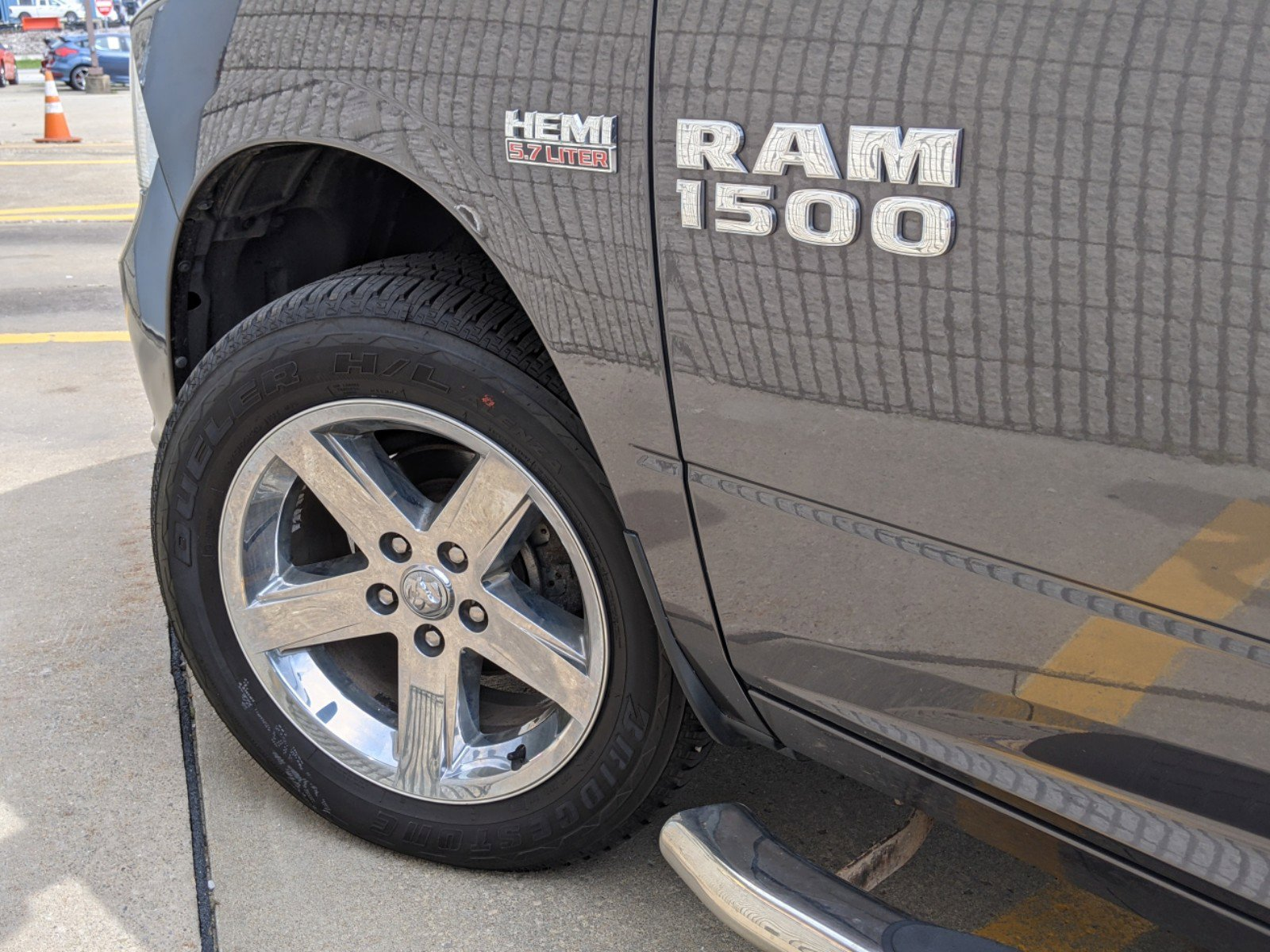 2016 Ram 1500 Short Bed