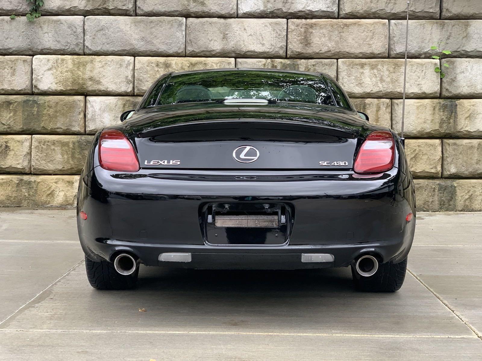 2007 Lexus SC 430 Convertible