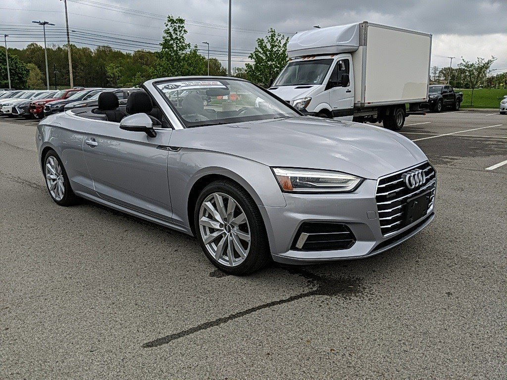 2018 Audi A5 Cabriolet Convertible