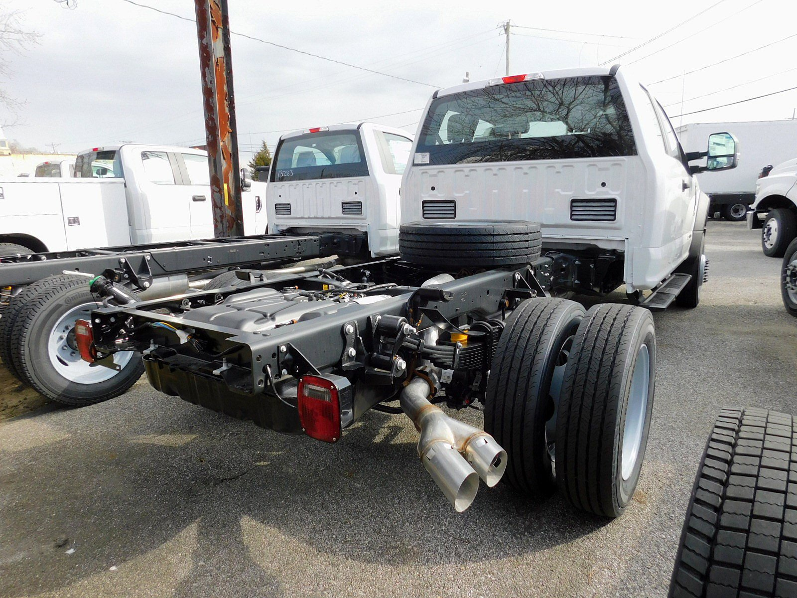 NEW 2019 FORD SUPER DUTY F-550 DRW TRUCK, CAB CHASSIS TRUCK #7010-4